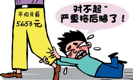惠州2016年官方工资指导价公布,本科平均月薪5653元
